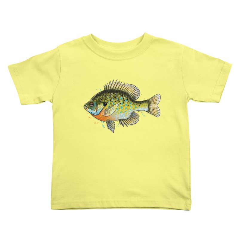Bluegill Kids Toddler T-Shirt by Boneyard Studio - Boneyard Fly Gear