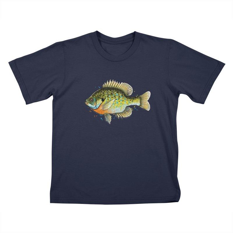 Bluegill Kids T-Shirt by Boneyard Studio - Boneyard Fly Gear