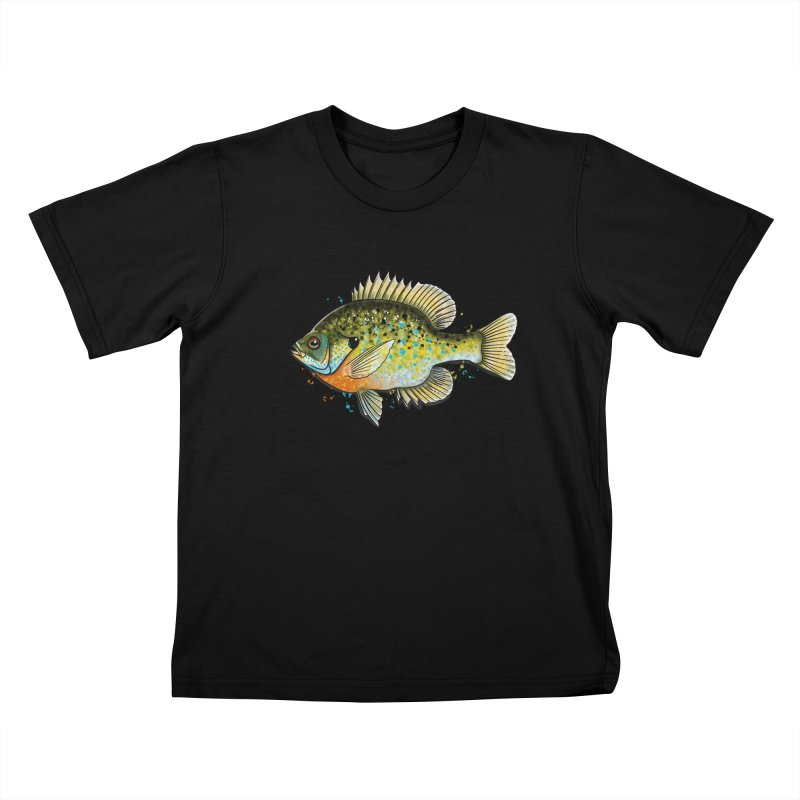 Bluegill Kids T-Shirt by Boneyard Studio - Boneyard Fly Gear