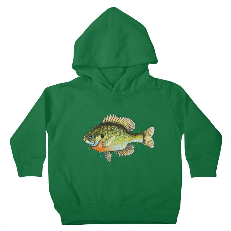 Bluegill Kids Toddler Pullover Hoody by Boneyard Studio - Boneyard Fly Gear