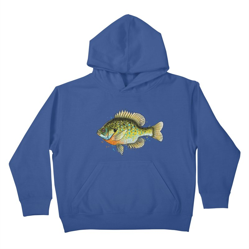 Bluegill Kids Pullover Hoody by Boneyard Studio - Boneyard Fly Gear