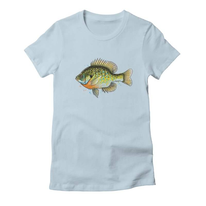 Bluegill Women's T-Shirt by Boneyard Studio - Boneyard Fly Gear