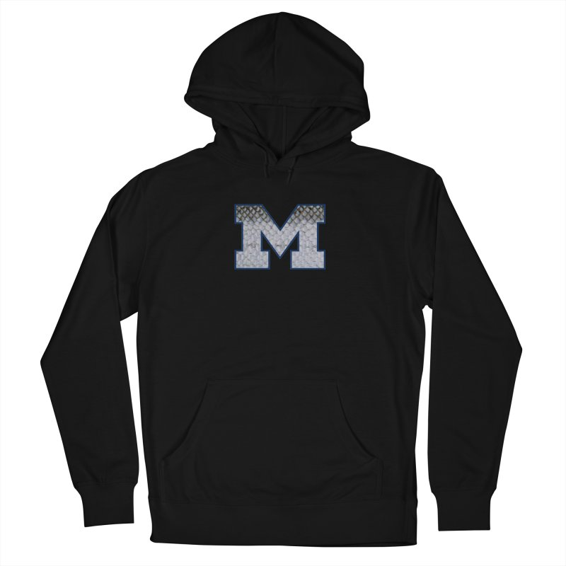 Michigan Steel Men's Pullover Hoody by Boneyard Studio - Boneyard Fly Gear