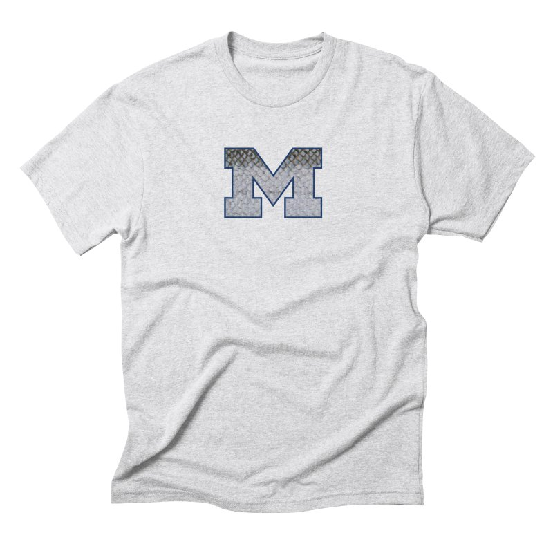 Michigan Steel Men's Triblend T-Shirt by Boneyard Studio - Boneyard Fly Gear