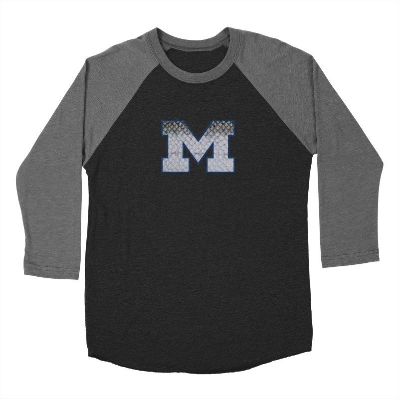Michigan Steel Men's Baseball Triblend T-Shirt by Boneyard Studio - Boneyard Fly Gear