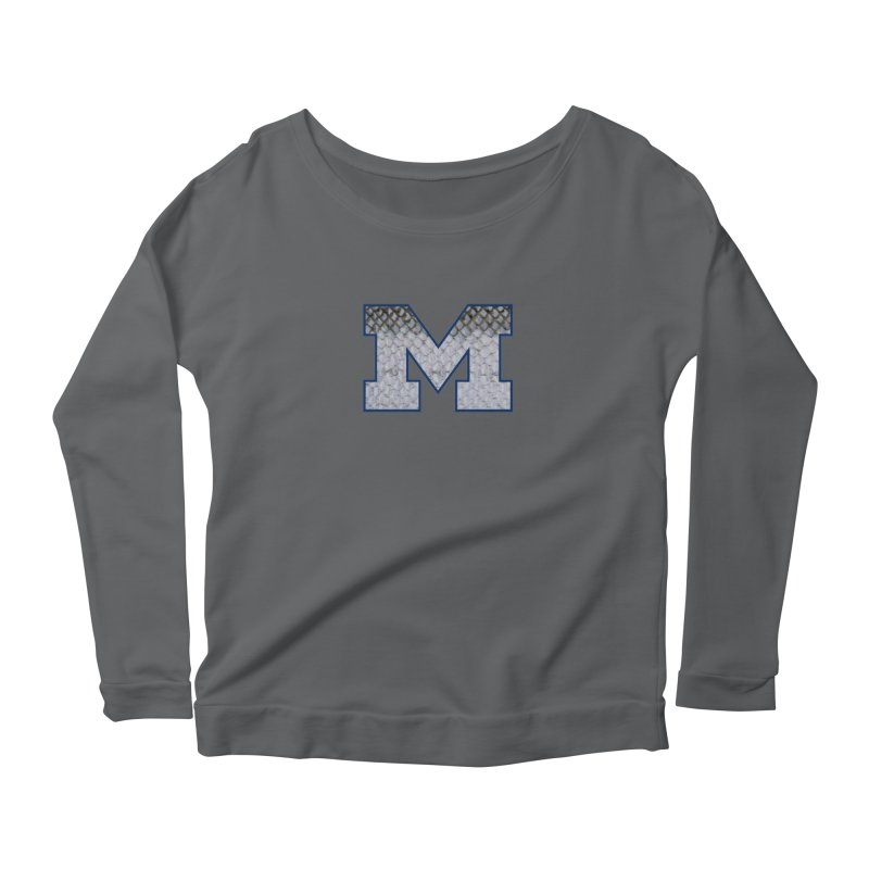 Michigan Steel Women's Scoop Neck Longsleeve T-Shirt by Boneyard Studio - Boneyard Fly Gear