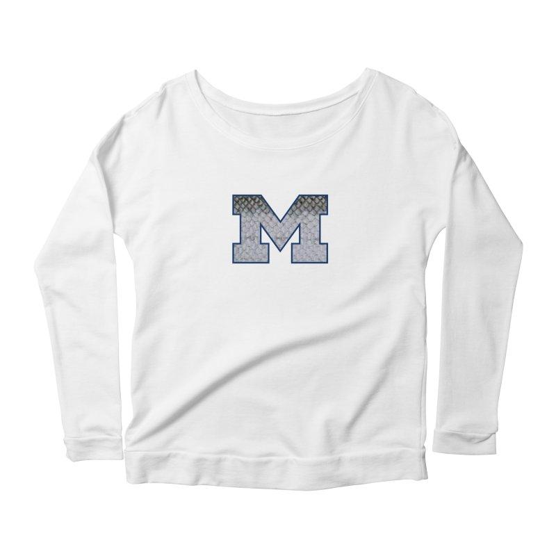 Michigan Steel Women's Scoop Neck Longsleeve T-Shirt by Boneyard Studio - Boneyard Fly Gear