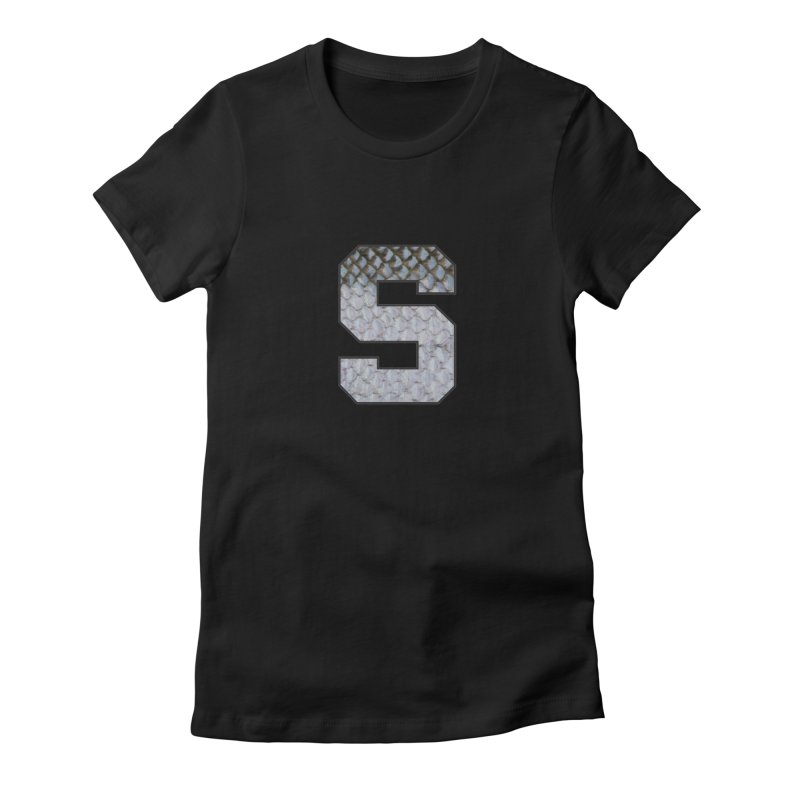 State Steel Women's Fitted T-Shirt by Boneyard Studio - Boneyard Fly Gear