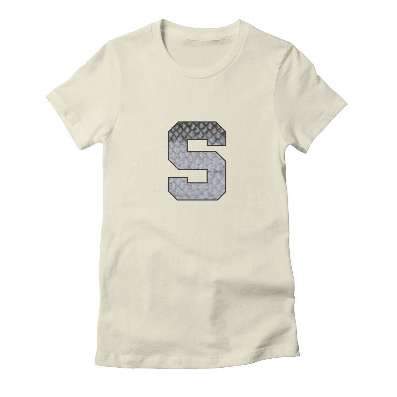 State Steel Women's Fitted T-Shirt by Boneyard Studio - Boneyard Fly Gear