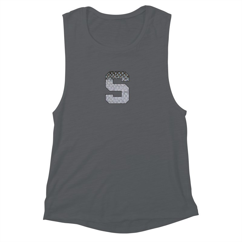 State Steel Women's Muscle Tank by Boneyard Studio - Boneyard Fly Gear