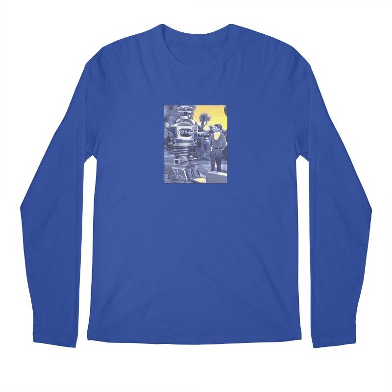 Warning, Warning... the Steelhead are running. Men's Longsleeve T-Shirt by Boneyard Studio - Boneyard Fly Gear