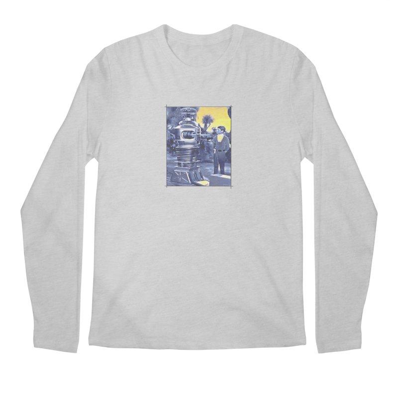 Warning, Warning... the Steelhead are running. Men's Regular Longsleeve T-Shirt by Boneyard Studio - Boneyard Fly Gear