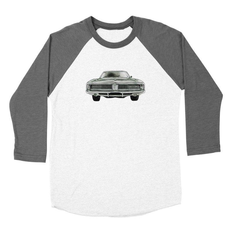 69 Charger sketch Men's Baseball Triblend T-Shirt by Boneyard Studio - Boneyard Fly Gear