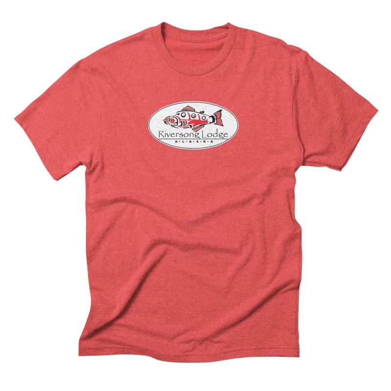 River Song Men's Triblend T-Shirt by Boneyard Studio - Boneyard Fly Gear
