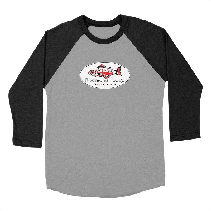 River Song Women's Baseball Triblend Longsleeve T-Shirt by Boneyard Studio - Boneyard Fly Gear