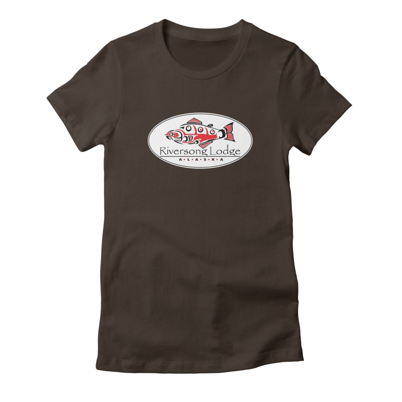 River Song Women's Fitted T-Shirt by Boneyard Studio - Boneyard Fly Gear