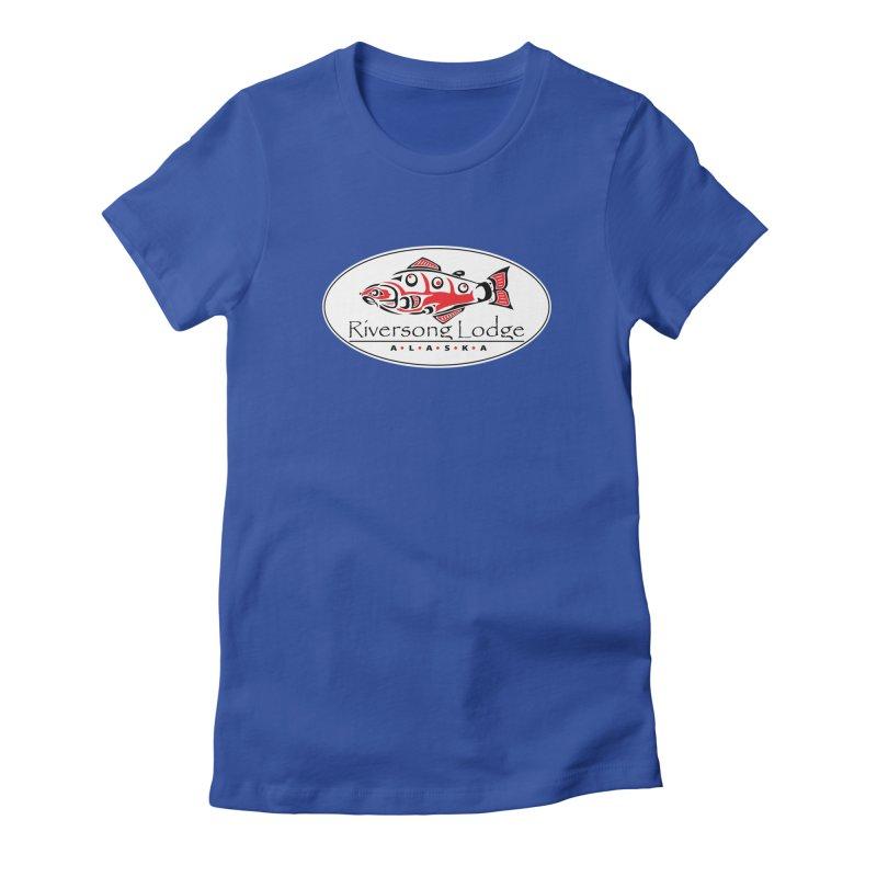 River Song Women's Fitted T-Shirt by Boneyard Studio - Boneyard Fly Gear