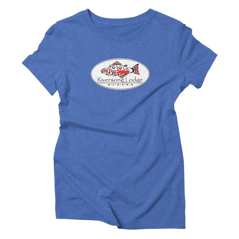 River Song Women's Triblend T-Shirt by Boneyard Studio - Boneyard Fly Gear