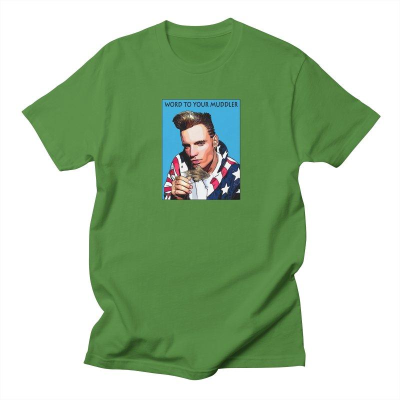 Word to your Muddler Men's Regular T-Shirt by Boneyard Studio - Boneyard Fly Gear