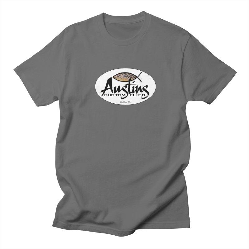 Austins Custom Flies Men's T-Shirt by Boneyard Studio - Boneyard Fly Gear