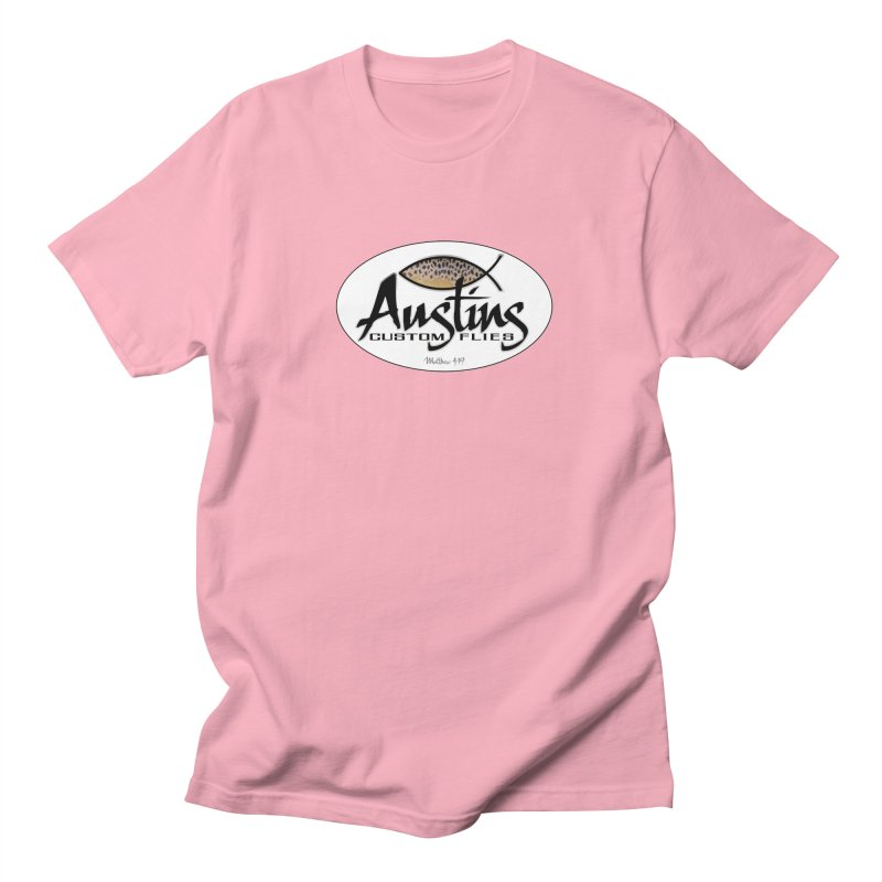 Austins Custom Flies Men's Regular T-Shirt by Boneyard Studio - Boneyard Fly Gear