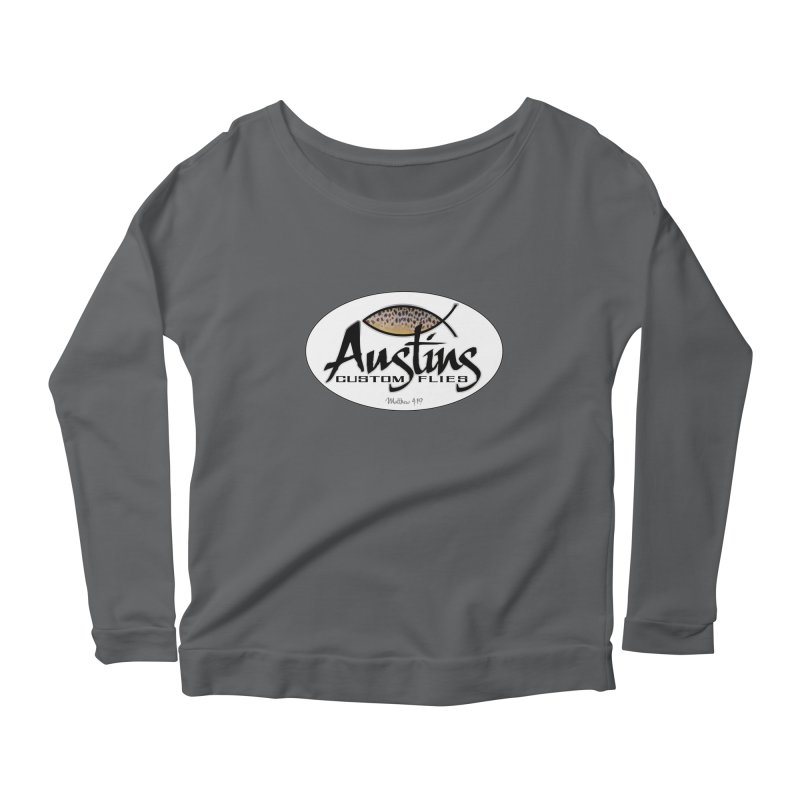 Austins Custom Flies Women's Longsleeve T-Shirt by Boneyard Studio - Boneyard Fly Gear