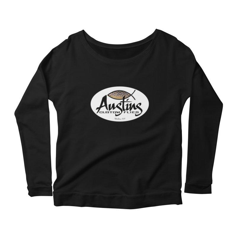 Austins Custom Flies Women's Longsleeve T-Shirt by Boneyard Studio - Boneyard Fly Gear