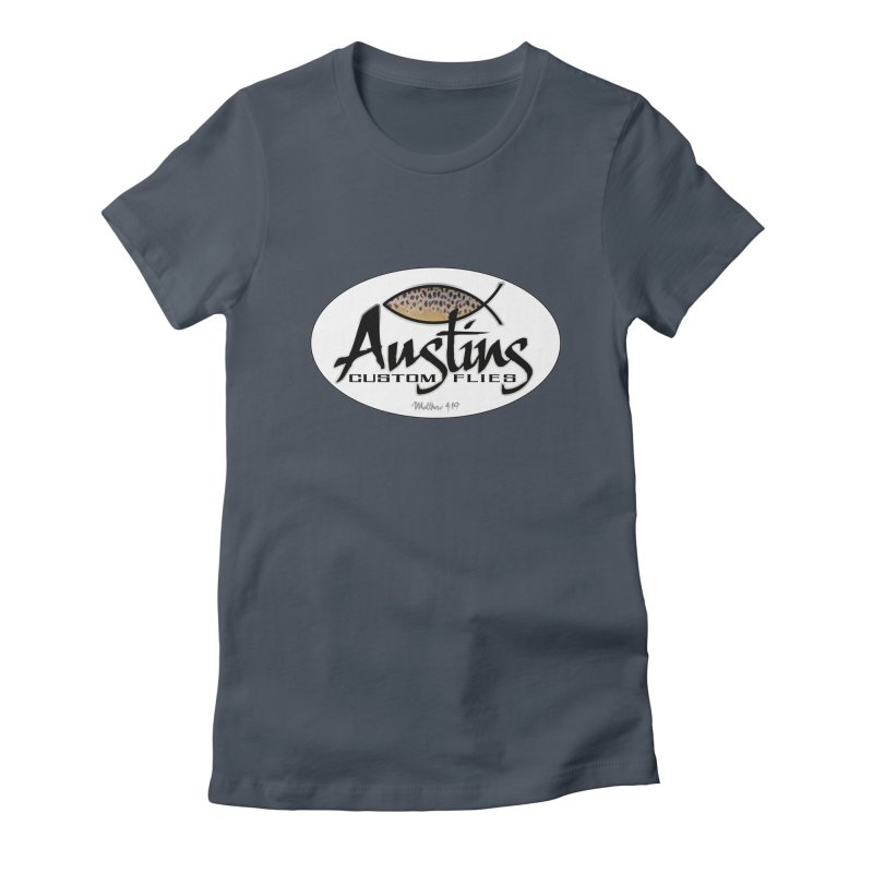 Austins Custom Flies Women's T-Shirt by Boneyard Studio - Boneyard Fly Gear