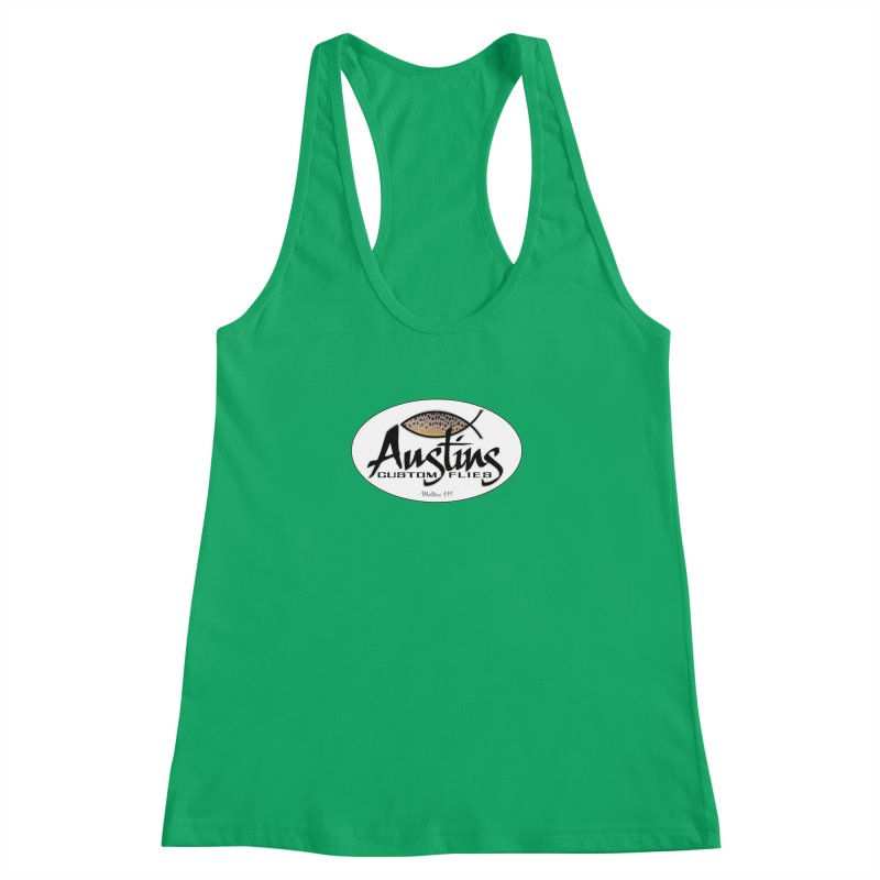 Austins Custom Flies Women's Tank by Boneyard Studio - Boneyard Fly Gear