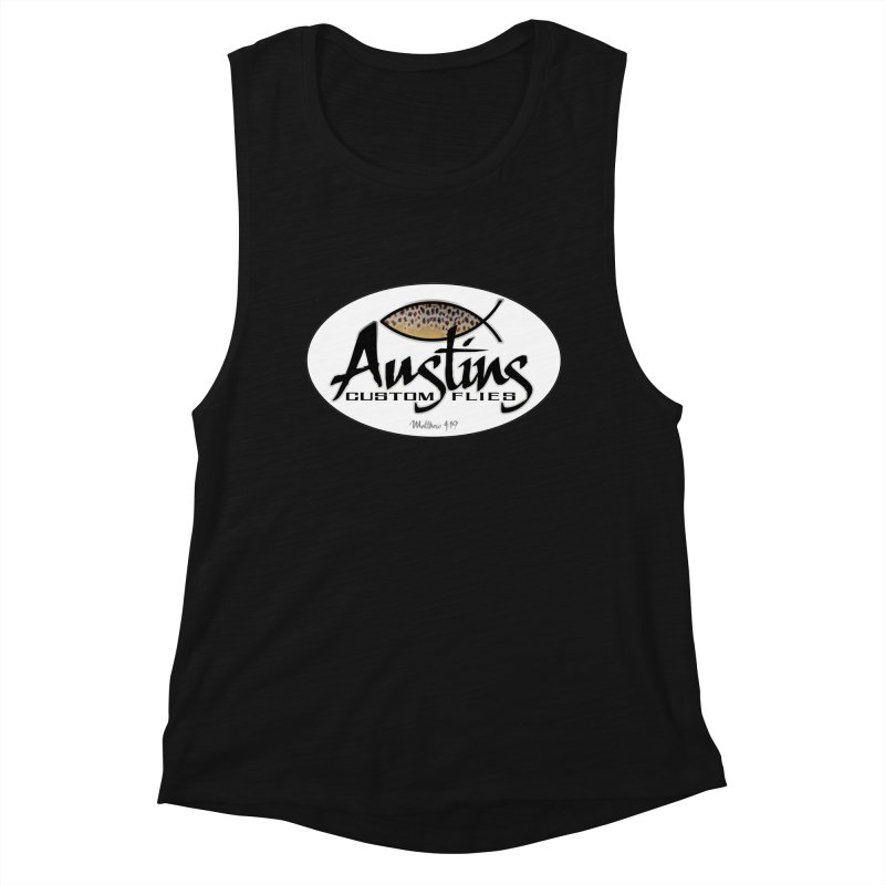 Austins Custom Flies Women's Tank by Boneyard Studio - Boneyard Fly Gear