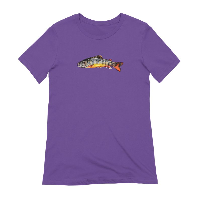 Baby brook Women's Extra Soft T-Shirt by Boneyard Studio - Boneyard Fly Gear