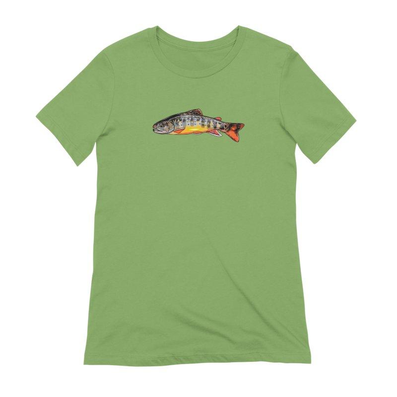 Baby brook Women's Extra Soft T-Shirt by Boneyard Studio - Boneyard Fly Gear