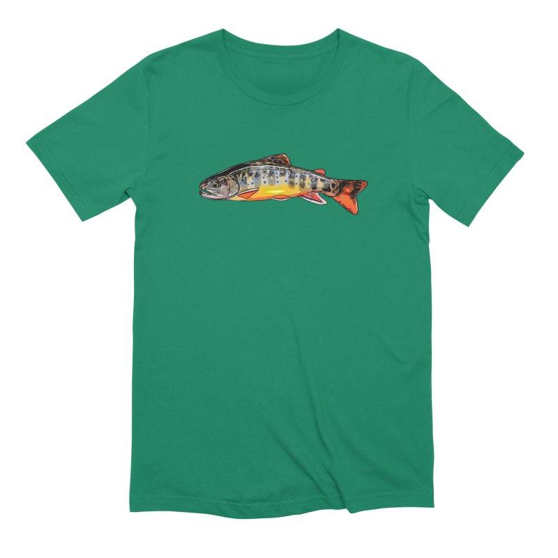Baby brook Men's Extra Soft T-Shirt by Boneyard Studio - Boneyard Fly Gear