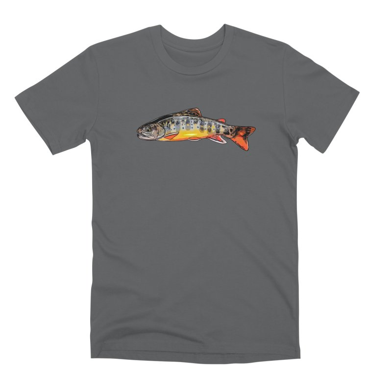 Baby brook Men's Premium T-Shirt by Boneyard Studio - Boneyard Fly Gear