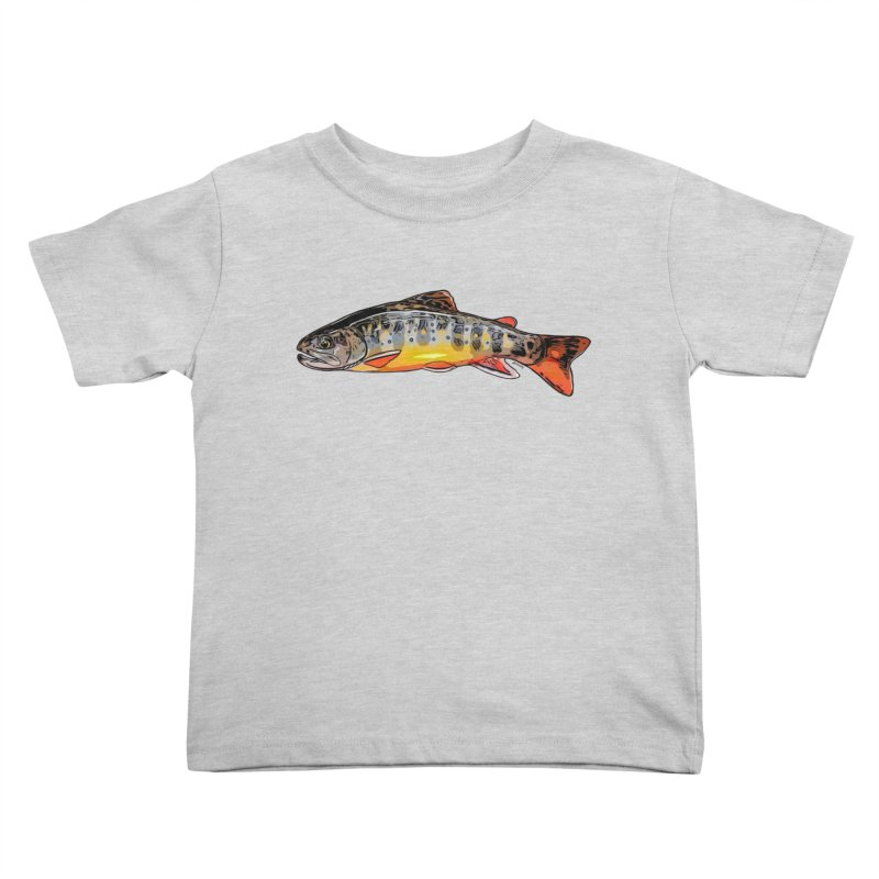 Baby brook Kids Toddler T-Shirt by Boneyard Studio - Boneyard Fly Gear