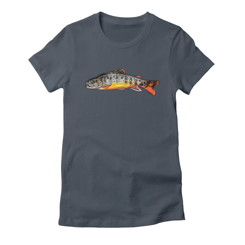 Baby brook Women's T-Shirt by Boneyard Studio - Boneyard Fly Gear