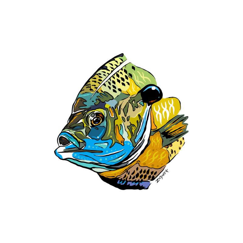 Bluegill F1 Women's T-Shirt by Boneyard Studio - Boneyard Fly Gear