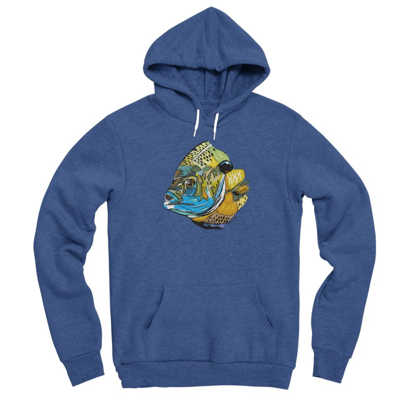 Bluegill F1 Men's Sponge Fleece Pullover Hoody by Boneyard Studio - Boneyard Fly Gear