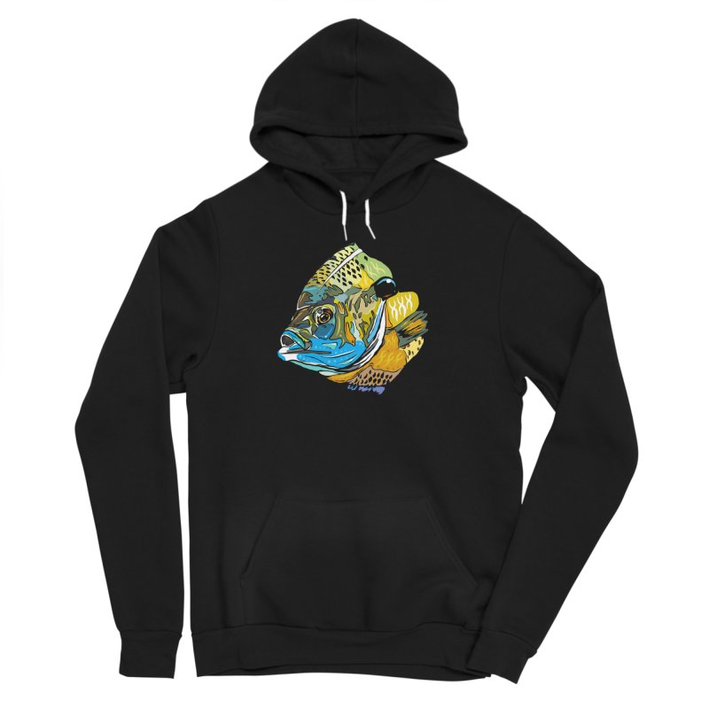 Bluegill F1 Women's Sponge Fleece Pullover Hoody by Boneyard Studio - Boneyard Fly Gear