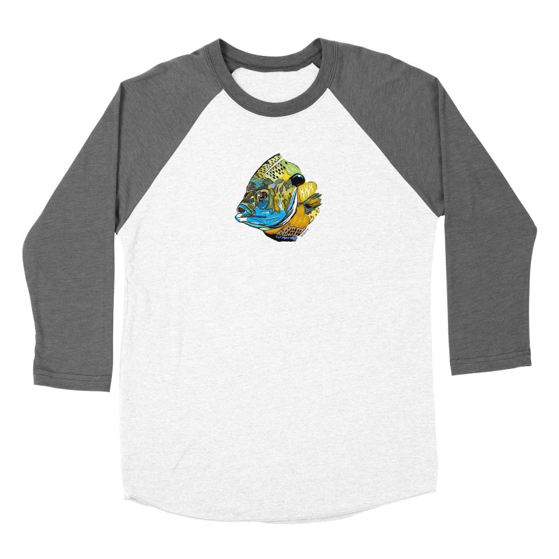 Bluegill F1 Women's Longsleeve T-Shirt by Boneyard Studio - Boneyard Fly Gear