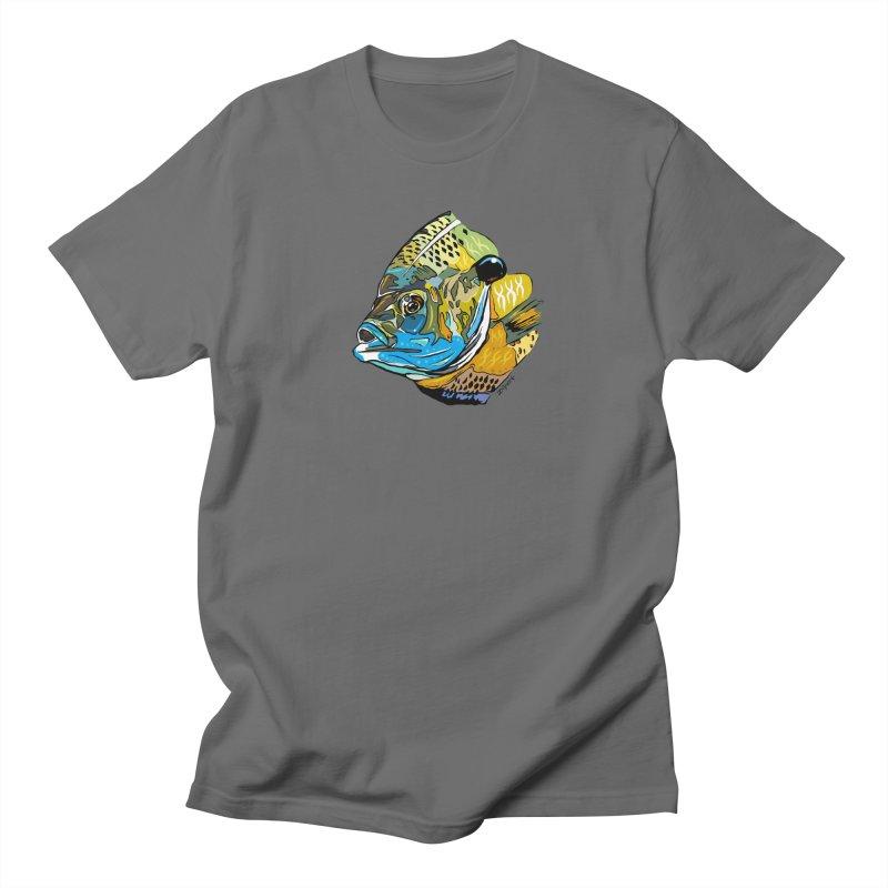 Bluegill F1 Men's T-Shirt by Boneyard Studio - Boneyard Fly Gear
