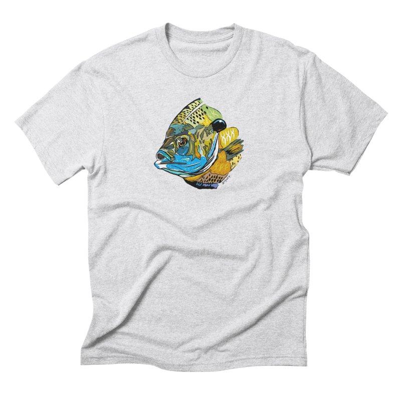 Bluegill F1 Men's Triblend T-Shirt by Boneyard Studio - Boneyard Fly Gear