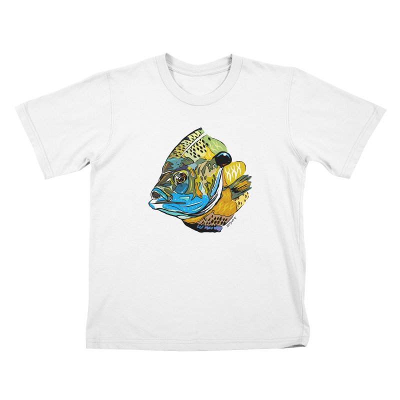 Bluegill F1 Kids T-Shirt by Boneyard Studio - Boneyard Fly Gear