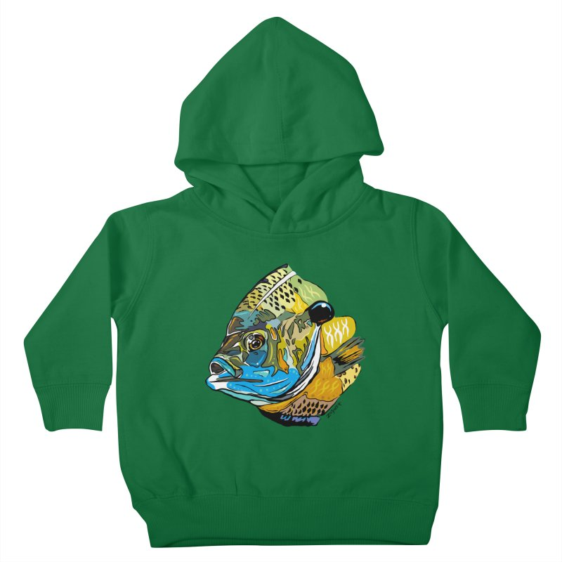 Bluegill F1 Kids Toddler Pullover Hoody by Boneyard Studio - Boneyard Fly Gear
