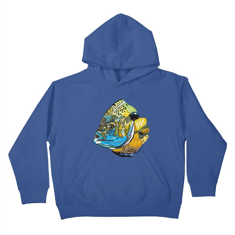 Bluegill F1 Kids Pullover Hoody by Boneyard Studio - Boneyard Fly Gear