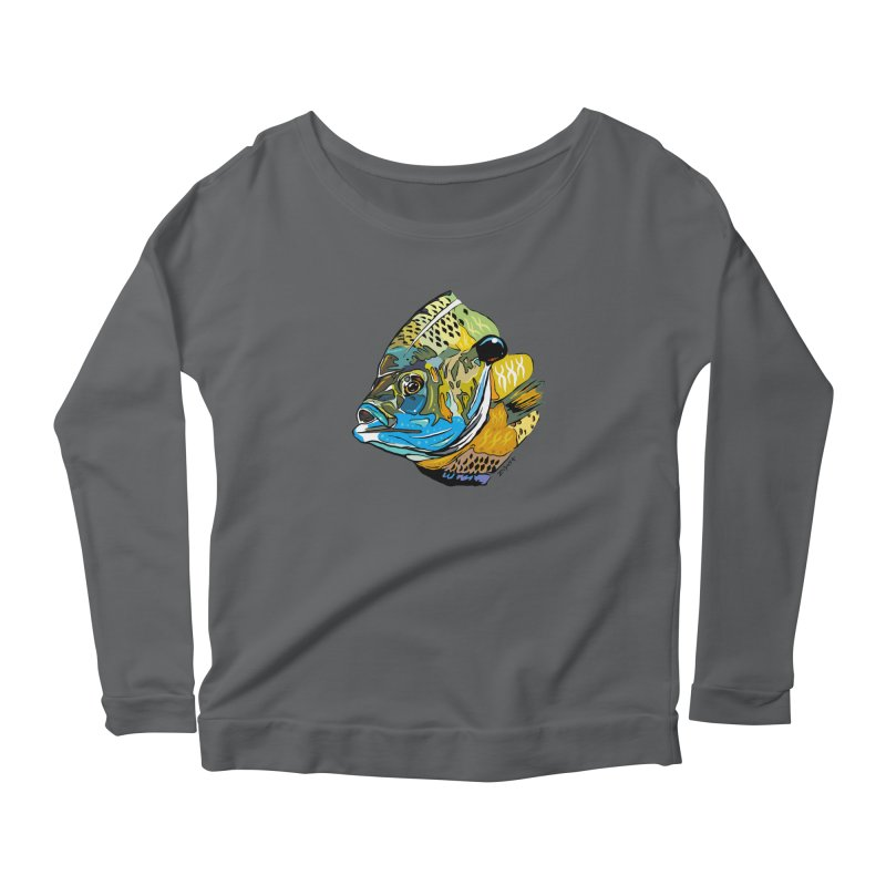Bluegill F1 Women's Longsleeve T-Shirt by Boneyard Studio - Boneyard Fly Gear