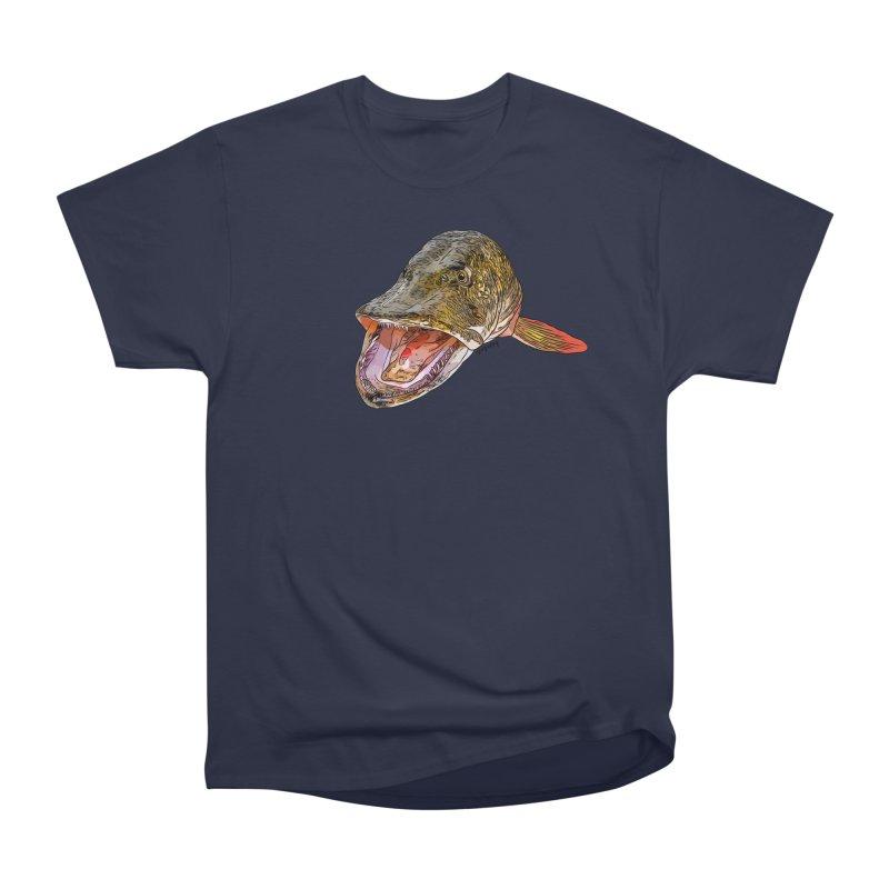 Pike 2018 Men's Heavyweight T-Shirt by Boneyard Studio - Boneyard Fly Gear