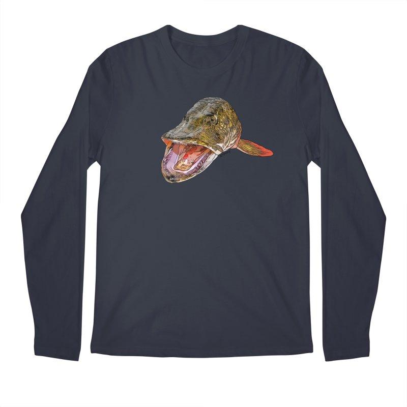 Pike 2018 Men's Regular Longsleeve T-Shirt by Boneyard Studio - Boneyard Fly Gear