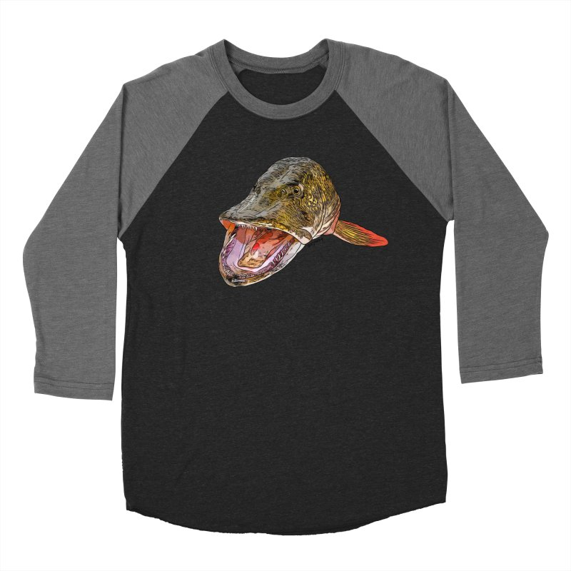 Pike 2018 Men's Baseball Triblend Longsleeve T-Shirt by Boneyard Studio - Boneyard Fly Gear