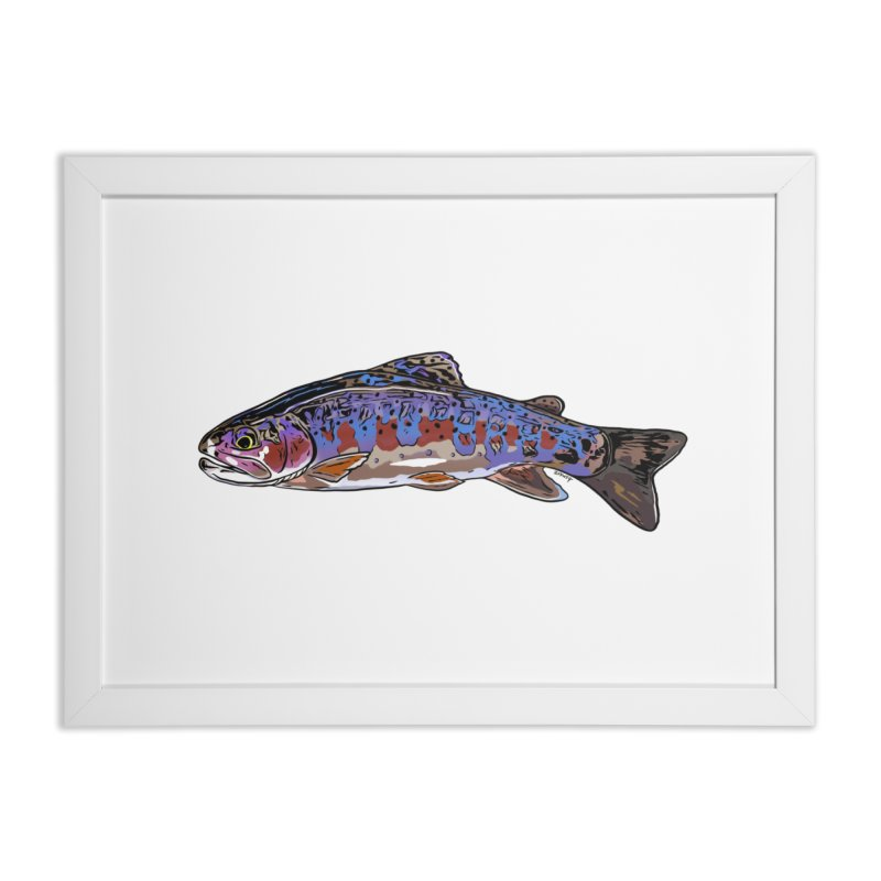 Rainbow Fine Art Home Framed Fine Art Print by Boneyard Studio - Boneyard Fly Gear